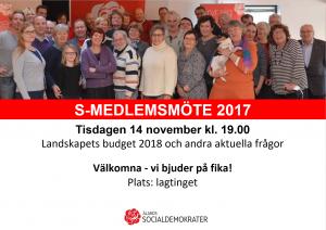 Medlemsmöte2017